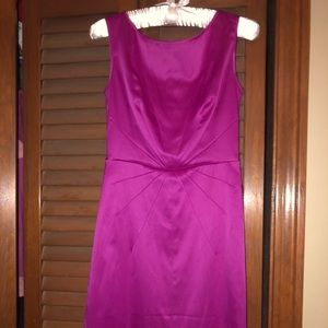 Satin Banana Republic dress size 2